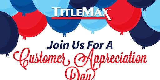 Community Appreciation Day at TitleMax Chickasaw, AL