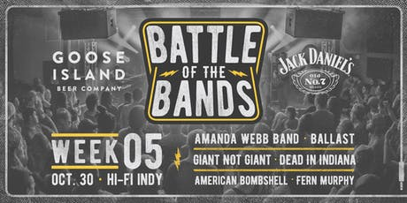 2019 Battle of the Bands: First Round - Week #5 @ HI-FI tickets