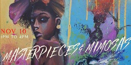 Masterpieces & Mimosas tickets