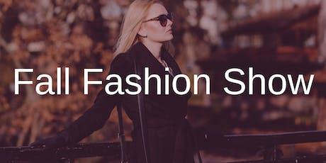 Fall Fashion Show tickets