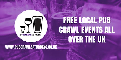 PUB CRAWL SATURDAYS! Free weekly pub crawl event in Market Drayton