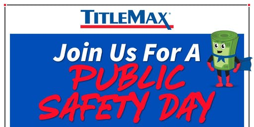 Public Safety Day at TitleMax O'Fallon, MO