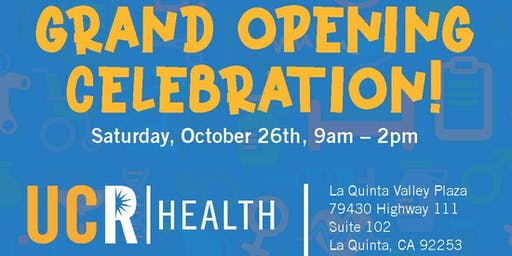 UCR Health Pediatric Clinic Grand Opening Celebration
