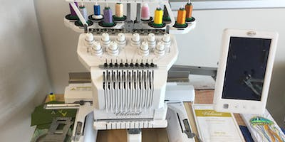 Basic Use and Safety: Embroidery Machine