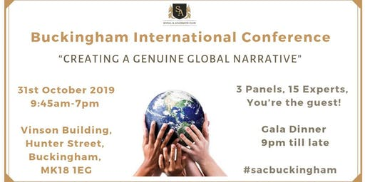Buckingham International Conference