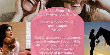 WISE Women & Sunday Afternoon Scones with Wisdom Ranch & Counseling tickets