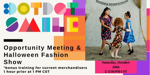 DotDotSmile Minneapolis Opportunity Meeting, Training, & Fashion Show!