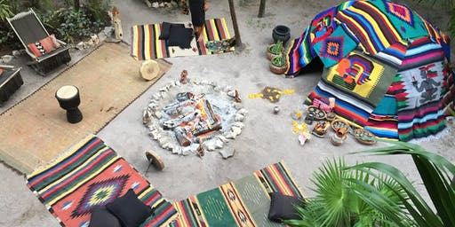 Cacao ceremony and temazcal, Sweat Lodge