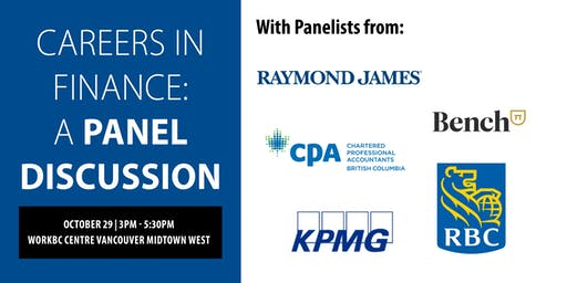 Careers in Finance: A Panel Discussion