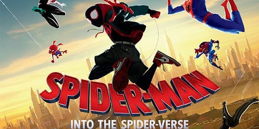 """Movie Night at Cool Blow Park featuring """"Spider-Man Into the Spider-Verse"""""""