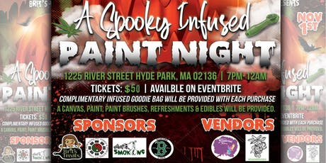 Brit's Treats Presents: A Spooky Infused Paint Night tickets