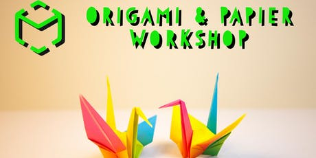 Origami & Papier Workshop Tickets