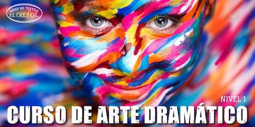 Curso De Arte Dramatico. I Nivel