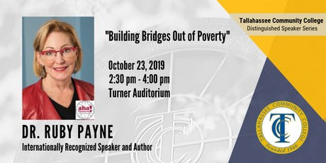 """Dr. Ruby Payne, """"Building Bridges Out of Poverty"""" tickets"""
