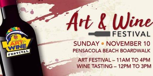 2019 Art and Wine Festival on Pensacola Beach