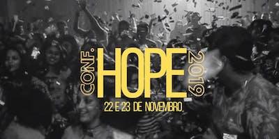 CONFERÊNCIA HOPE 2019