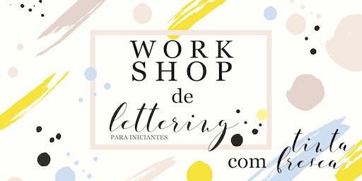 Workshop de Lettering para Iniciantes - SÃO PAULO