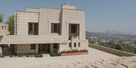 That Far Corner: Frank Lloyd Wright in Los Angeles w/ Short - Program  7 tickets