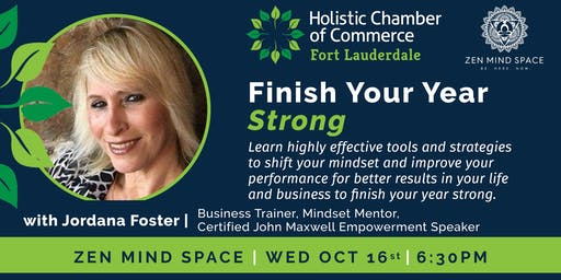 Finish Your Year Strong with Mindset Coach Jordana Foster