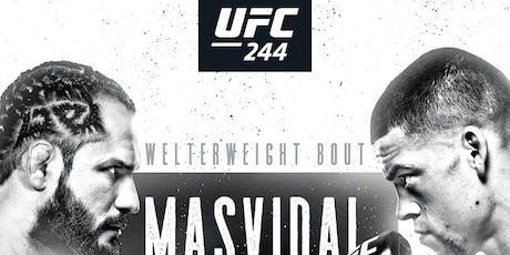UFC 244 Diaz vs Masvidal at Corner Pocket Sports Bar tickets