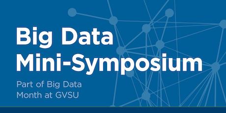 Big Data Mini-Symposium tickets