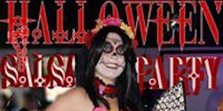 Latin Halloween Party!  Live Music by Grupo Rey and Best Costume Prizes tickets