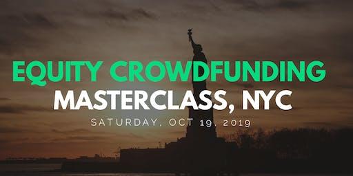 Raising Money - Equity & Debt Crowdfunding Masterclass, NYC