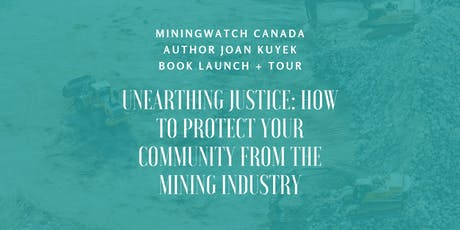 Unearthing Justice - Winnipeg Book Launch  tickets