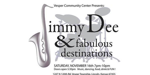Jimmy Dee and the Fabulous Destinations  - Hits from the 50s and 60s