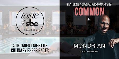Taste of sbe | Los Angeles  tickets