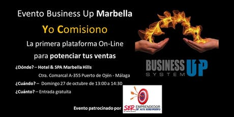 Evento Business Up MARBELLA (octubre) entradas