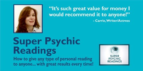 Super Psychic Readings tickets