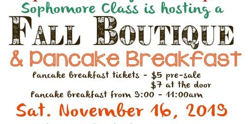 Lutheran High School Fall Boutique