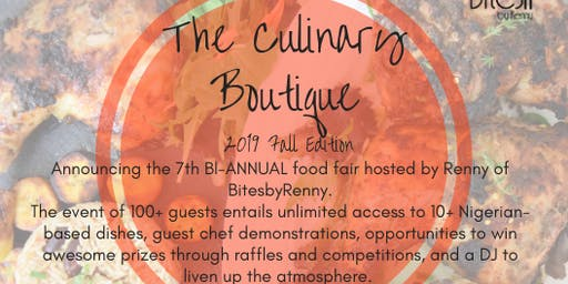 The Culinary Boutique by BitesbyRenny Fall 2019