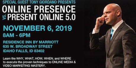 Tony Giordano - Online Presence 5.0 tickets