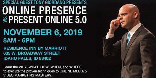 Tony Giordano - Online Presence 5.0