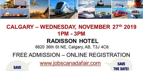 Calgary Transportation Job Fair – November 27th, 2019 tickets