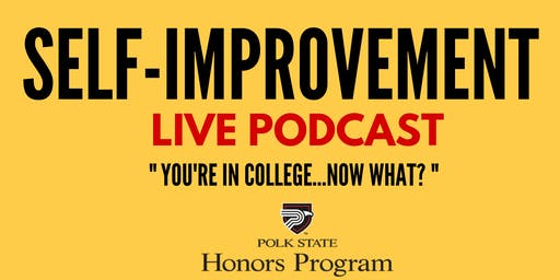 Self-improvement live podcast
