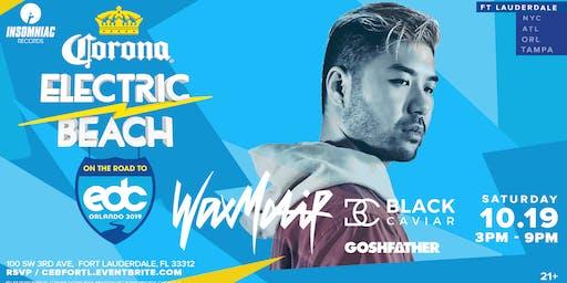 Corona Electric Beach 'Road to EDC Orlando' w/ Wax Motif & Black Caviar