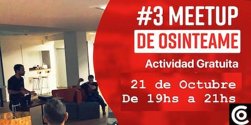 OSINTeame Community #3 Meetup