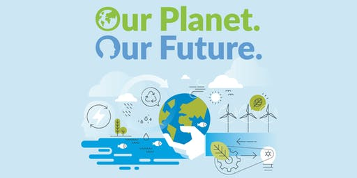 "Celebrate the UN's 74th Birthday - ""Our Planet, Our Future"""