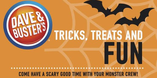 Halloween Fun at Dave & Buster's Jacksonville