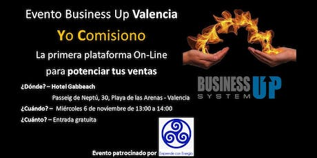 Evento Business Up VALENCIA (noviembre) billets