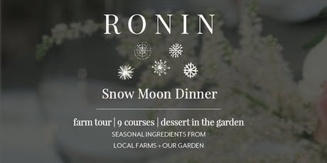 Snow Moon Dinner tickets