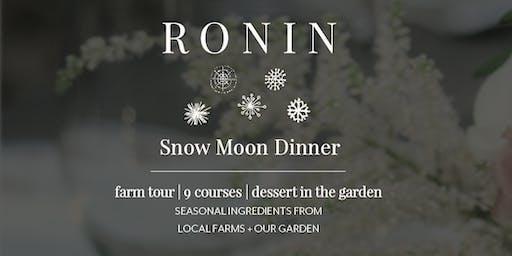 Snow Moon Dinner