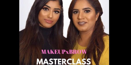 MAKEUPxBROWS MASTERCLASS