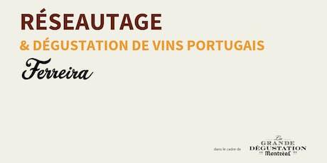 Réseautage & dégustation de vins portugais billets