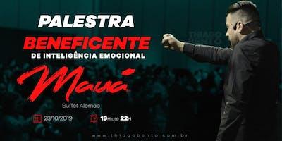 PALESTRA BENEFICENTE DE INTELIGÊNCIA EMOCIONAL - MAUÁ  SP 23/10/19