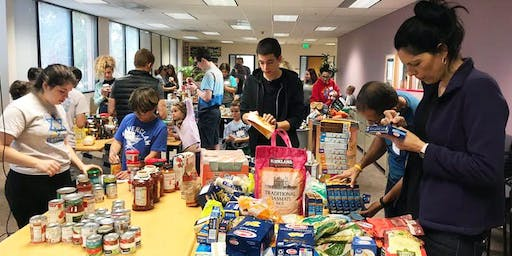 2019 JFCS High Holiday Sorting Event—Palo Alto