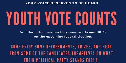 Youth Vote Counts: Information Session for Youth on 2019 Federal Election